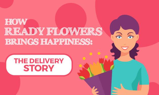 [Infographics] How zFlowers.com Brings Happiness: The Delivery Story