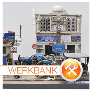 Markt-Tag in Kandahar - ein Diorama in 1:35