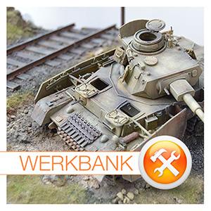 Der besondere Eyecatcher: Panzer-Wracks