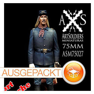 ASM 75027 Ft. Apache • Lt. Col. Owen Thursday • Art Soldiers Miniatures