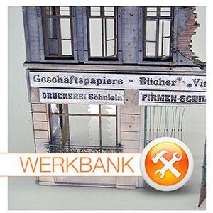 Berlin ´45 • Bau und Bemalung einer Stadthaus-Ruine • Teil 2