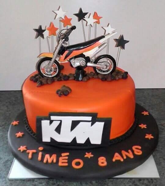 Moto Cross KTM En Pate A Sucre Blog Zdio
