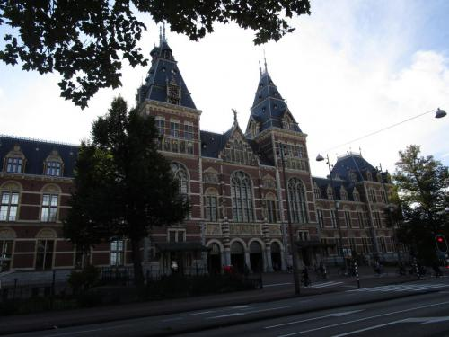 The Rijksmuseum. I probably won't go in, but maybe.
