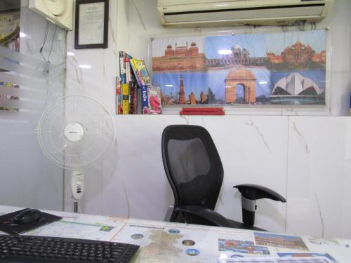 Travel agent office