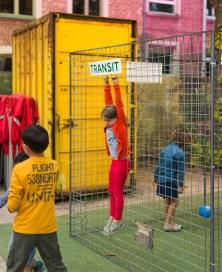 Kinderen in de transitzone