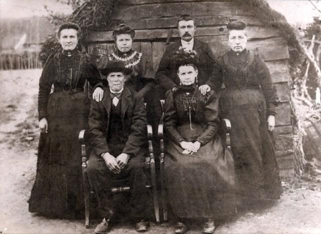 Marie Leonie Kesteloot, Emerence Kesteloot, August Kesteloodt, Mathilde Kesteloot, Carolus Ludovicus Kesteloot, Seraphina Cooreman