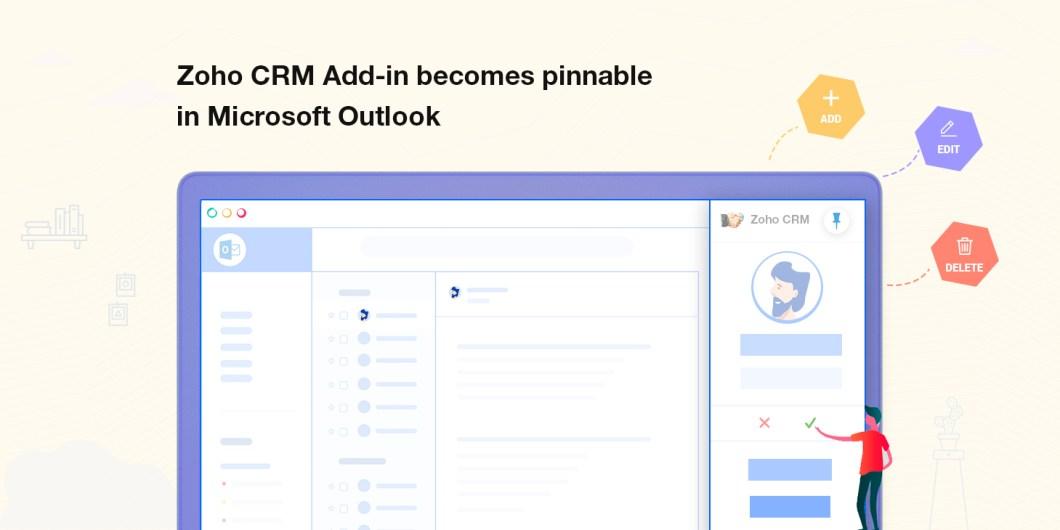 Gerenciar Zoho CRM do Outlook