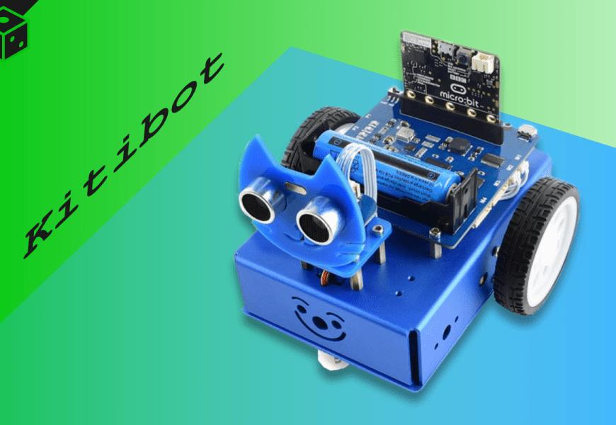 Tretí spôsob ovládania robota KitiBot 2WD