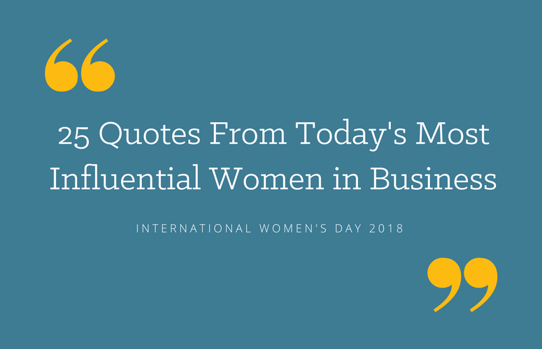 25 Motivational Quotes By Women In Business Zoominfo Blog