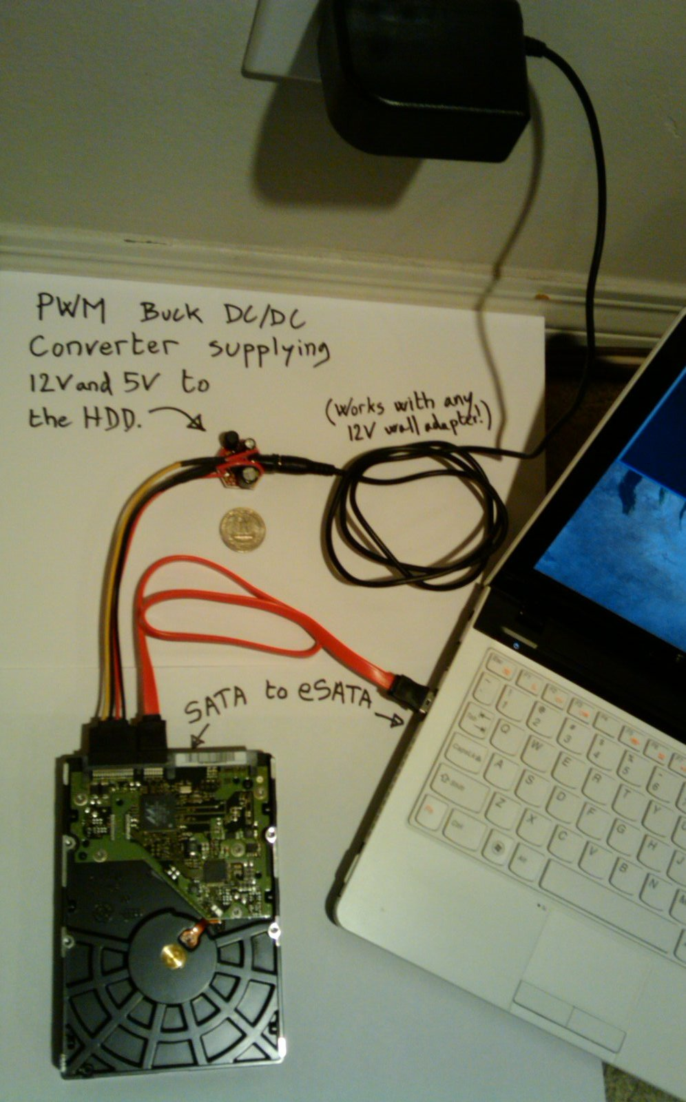 medium resolution of diy coin sized sata power module to replace a harddrive docking stationsata to usb wiring diagram