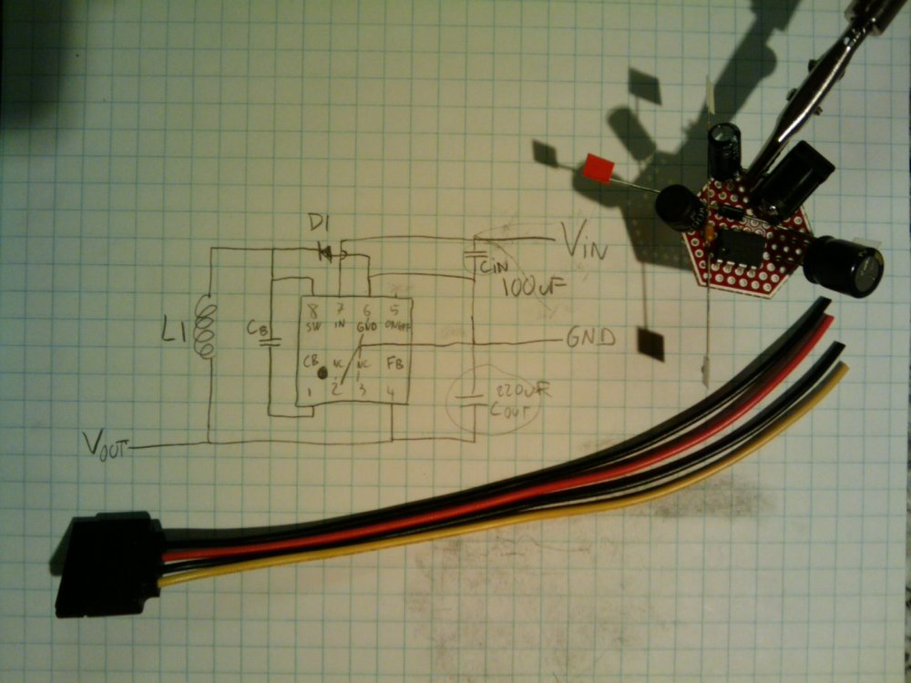 medium resolution of diy coin sized sata power module to replace a harddrive docking station sata drive to usb wiring diagram