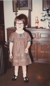 Me, geeked-out preschooler before geek was cool. circa 1969