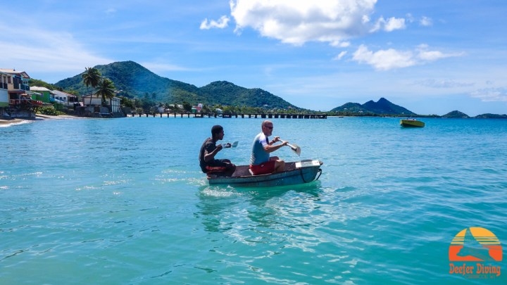 Fun at Deefer Diving Carriacou