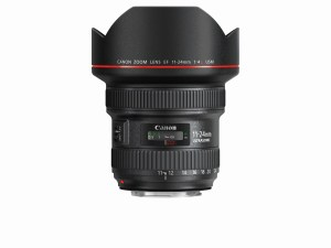 EF 11-24mm f4L USM Side without cap