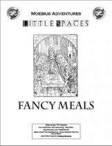 Little Spaces: Fancy Meals Cover