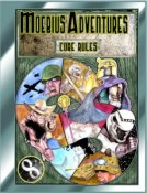 Moebius Adventures Core Rules book
