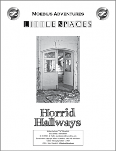 Little Spaces: Horrid Hallways cover