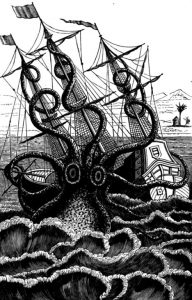 The Project Gutenberg EBook of Sea Monsters Unmasked and Sea Fables Explained, by Henry Lee