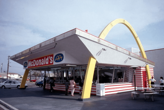 The first McDonald's architecture