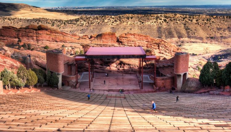 Red Rocks Amphitheatre and Park in denver