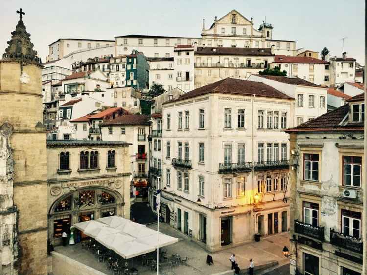 The town of Coimbra featured