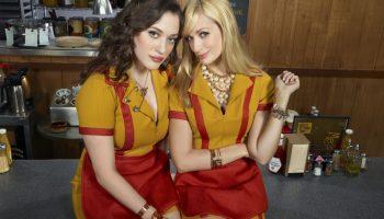 Caroline and Max, two broke girls thrifting in Brooklyn