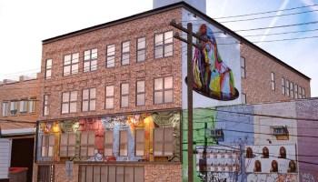 graffiti on walls, east williamsburg