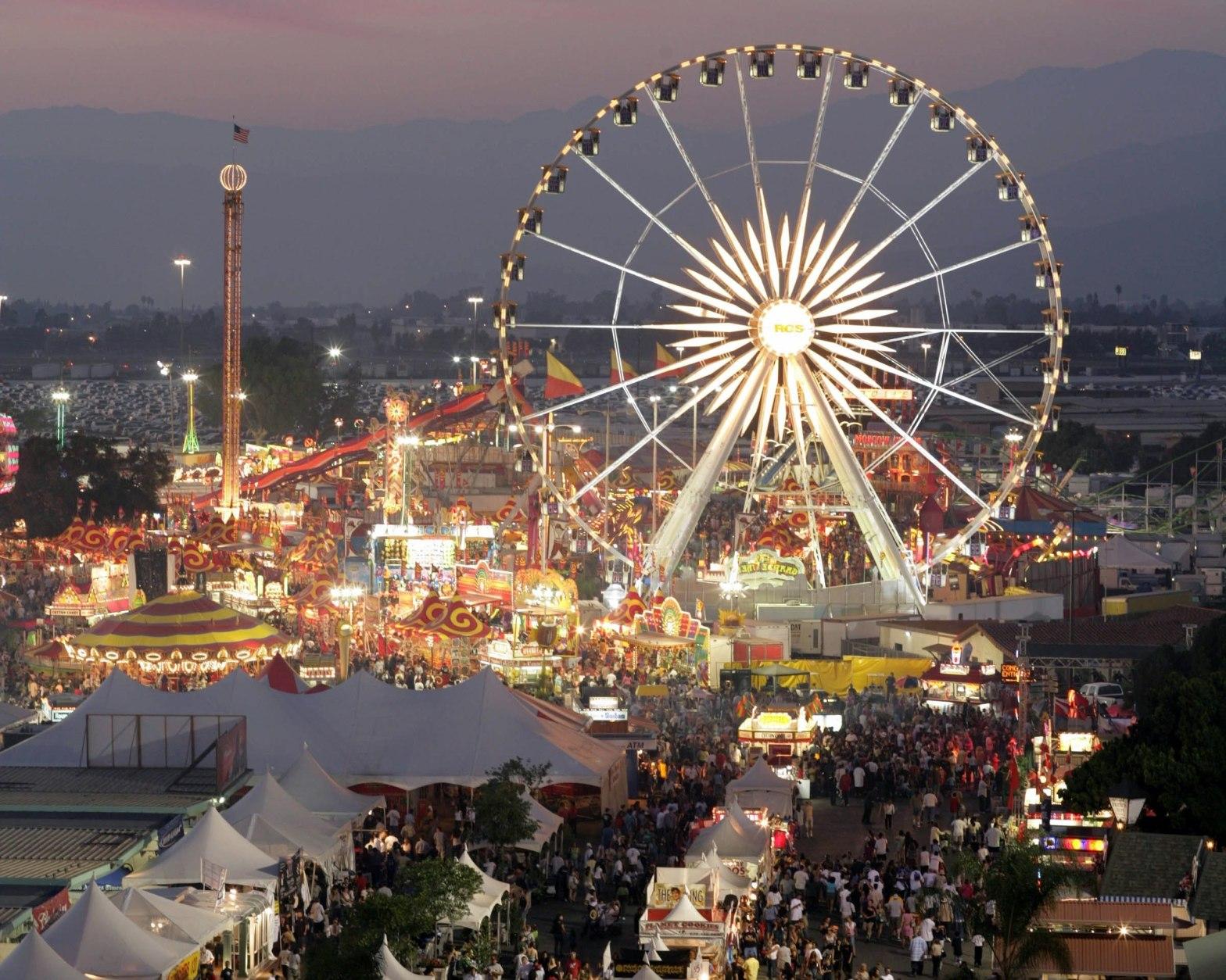 LA county fair Pomona, CA rooms for rent
