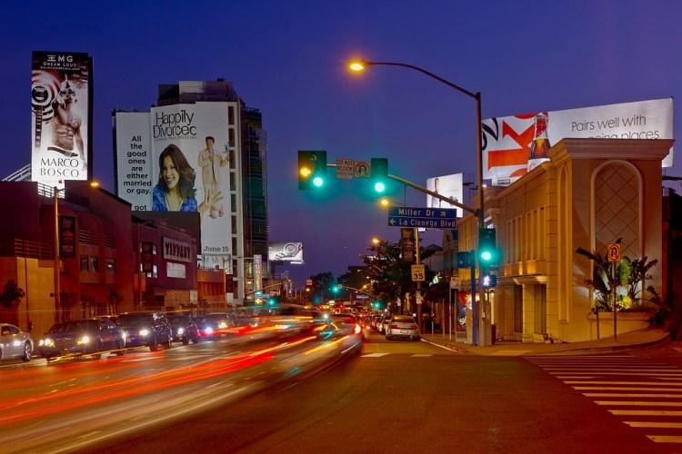 Sunset strip west hollywood