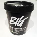 Sur le banc d'essai: BIG, le shampoing Lush…