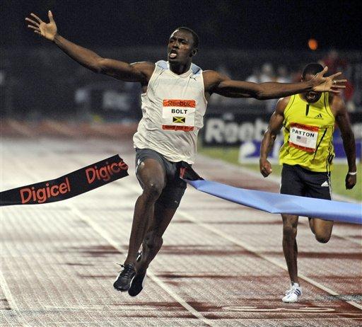 Bolt create world record in Olympics