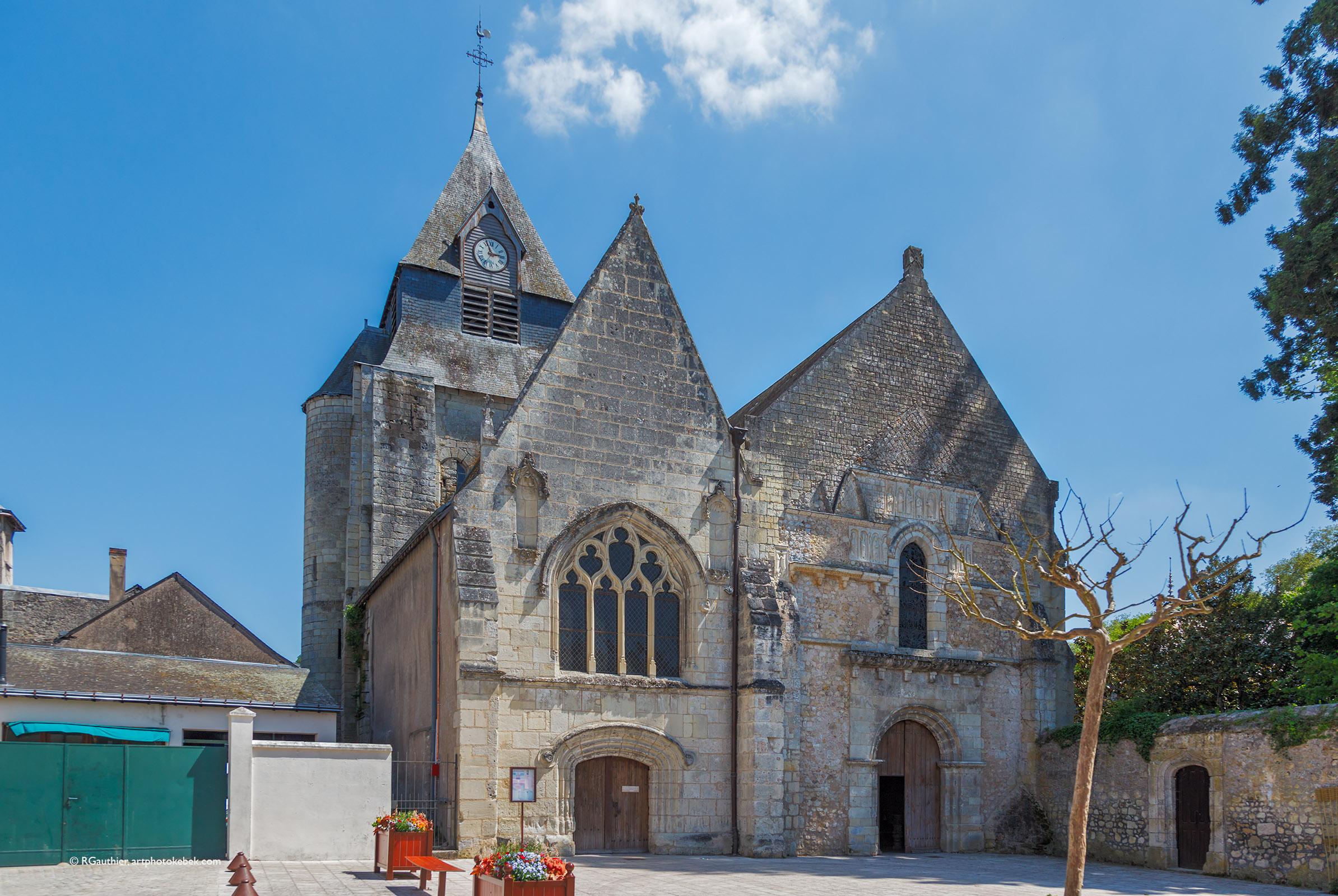 Artphotokebek Eglise Saint Symphorien D Azay Le Rideau