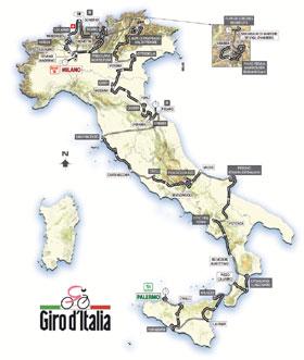 2008ko Giroko ibilbidea