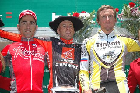 EB 2007 podiuma