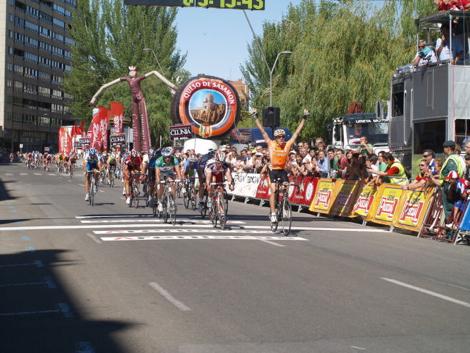 Larrearen garaipena 2008ko Burgosko itzulian