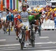 Cavendish. 10. etapan garaipena