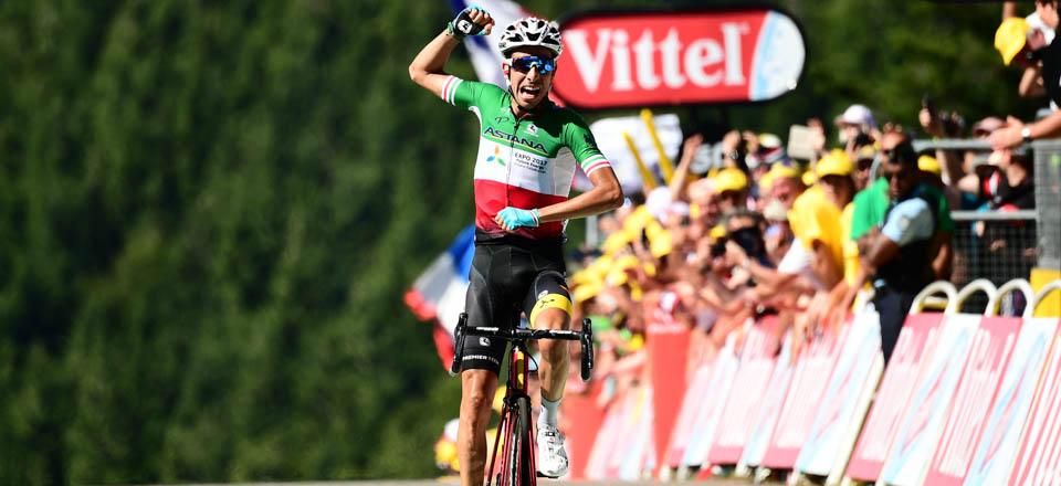 Aru (AST) garaile 2017ko Tourreko 5. etapan