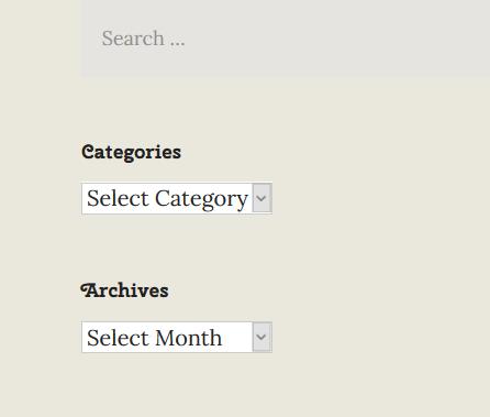 navigate wordpress