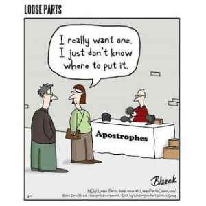 Apostrophe cartoon