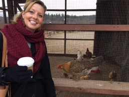 Me and my chicks. Actually I think these were all roosters. So, I'll skip that caption. ;)