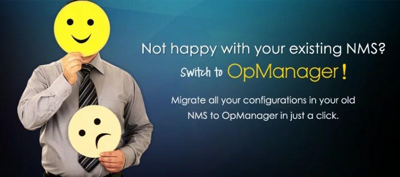 OpManager Migration