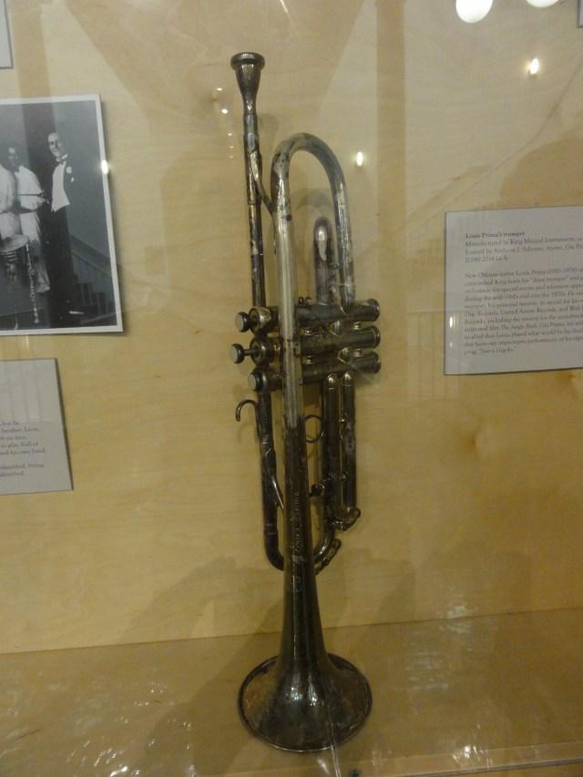 Trompette de Louis Prima