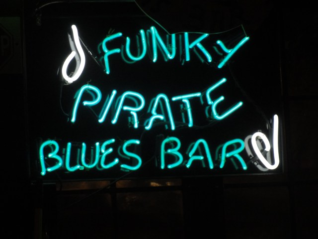 Funky Pirate Blues Bar