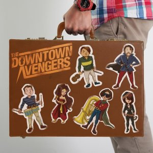 THE DOWNTOWN AVENGERS