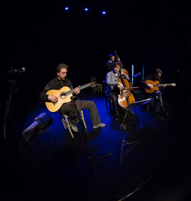 François Salques et Sam Strouck Gipsy Trio (2)