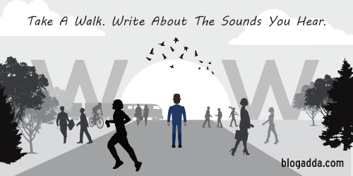WOW: Write About The Sounds You Hear