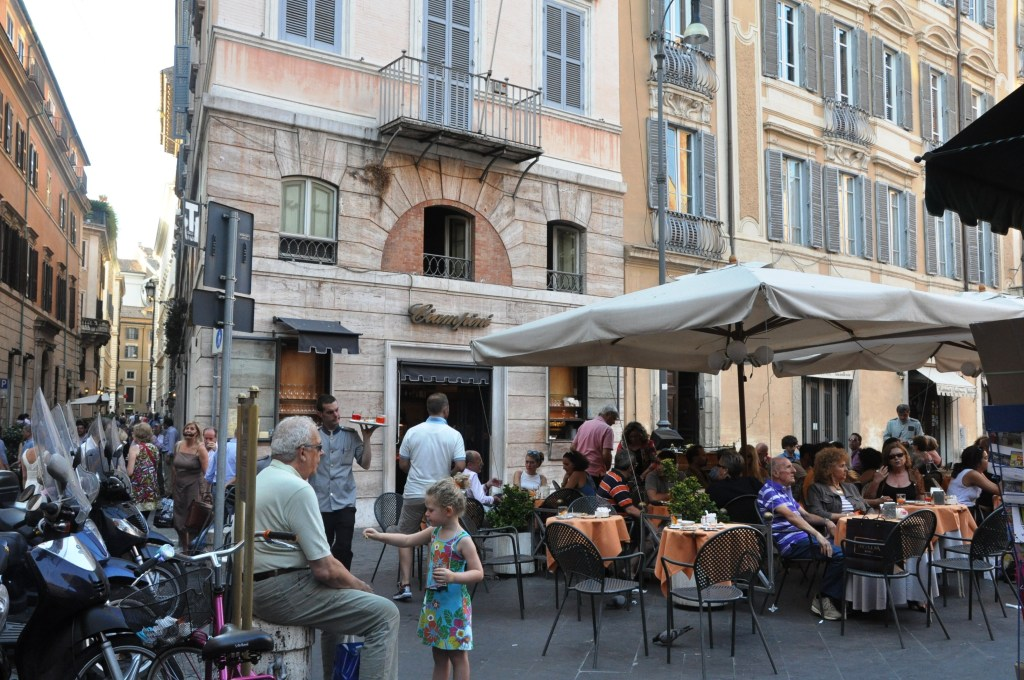 Take advantage of the delicious food on offer inside Italian eateries