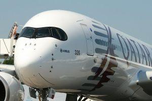 ¿Por qué el A350 lleva un antifaz?