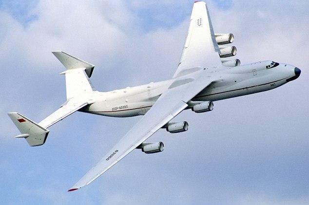 An-225, el avion de carga mas grande del mundo