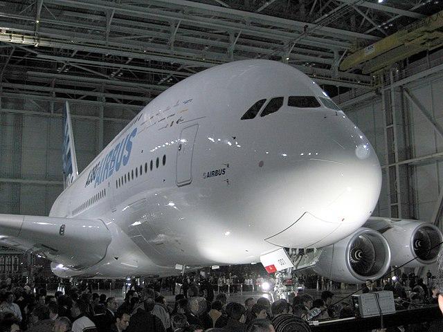 presentacion del A380